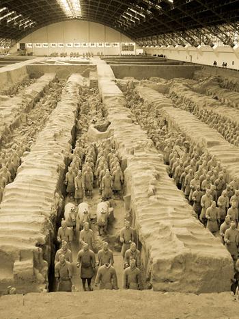 Terrakottaarmen i Xi'an